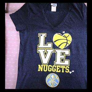 NBA Nuggets shirt 💙🏀